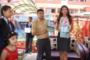 bishnu and miss nepal